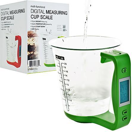 Chef Buddy Digital Detachable Measuring Cup Scale Just $13.76! Down From $23.99!
