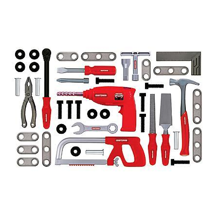 My First Craftsman 43 pc. Power Drill Set Just $7.99 Down From $15.99 At Sears!