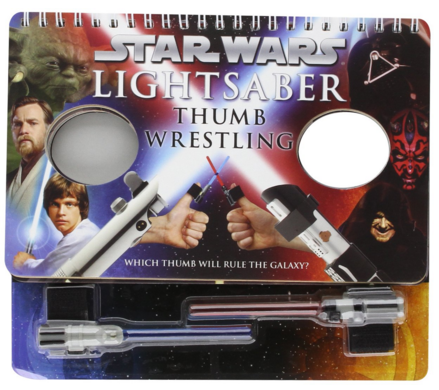 Star Wars Lightsaber Thumb Wrestling Game Just $7.29 Down From $13!