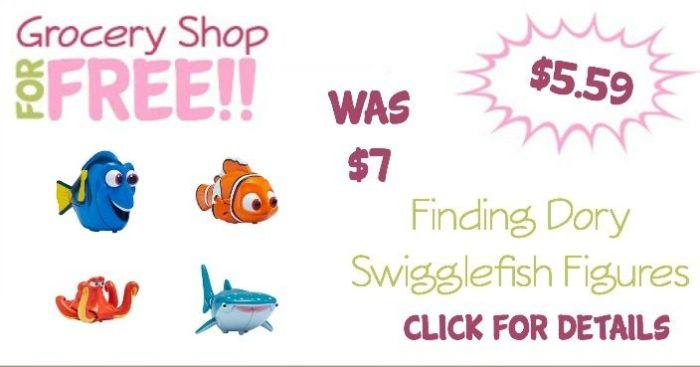 Finding Dory Swigglefish Figures Just $5.59! (Reg. $7)