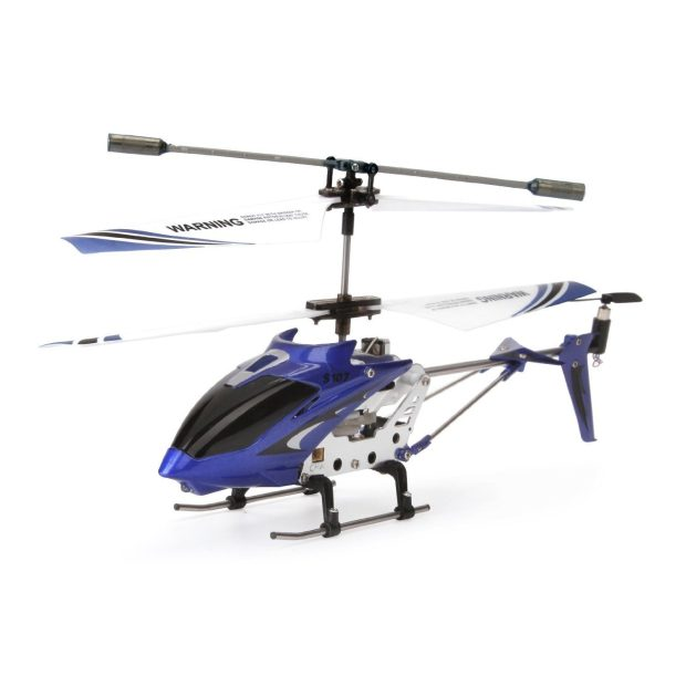 Syma R/C Helicopter with Gyro- Blue Just $15.50!
