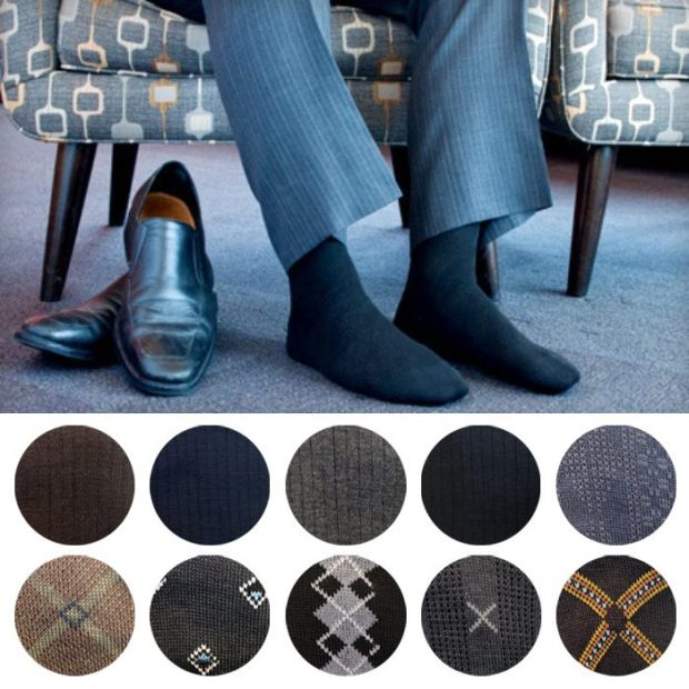 Men's Dress Socks 6 Pairs Just $7.49!  Ships FREE!