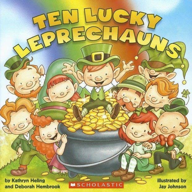 Ten Lucky Leprechauns Book $3.55 + FREE Shipping with Prime!