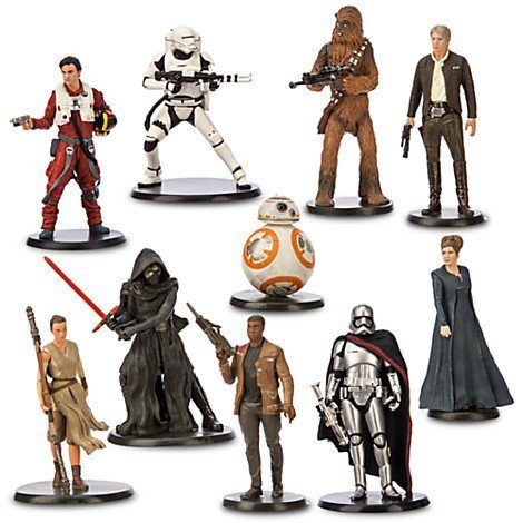 Star Wars: The Force Awakens Deluxe Figure Play Set Only $36.74!