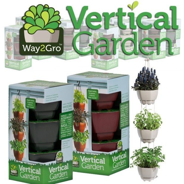 Vertical Garden Just $14.99 PLUS FREE Shipping!