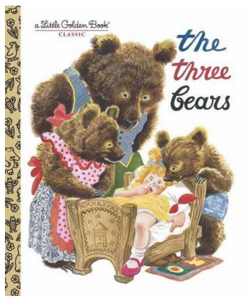 The Three Bears Hardcover Just $2.68 Down From $5!