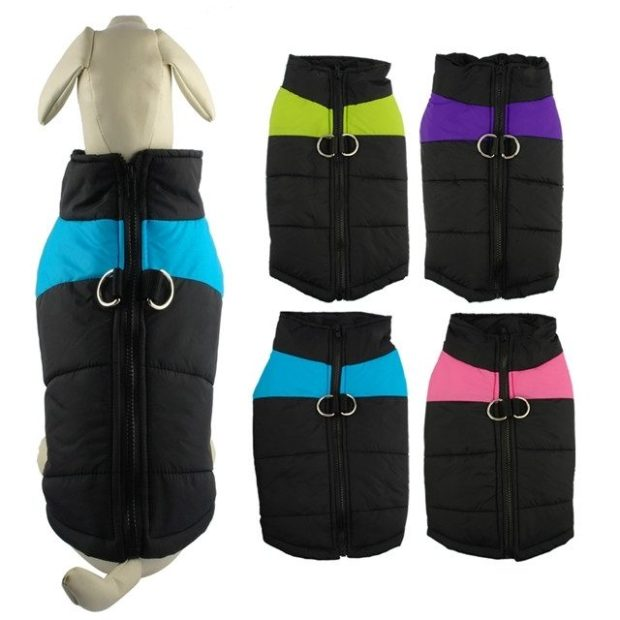 Winter Waterproof Padded Pet Dog Vest Only $8.58! Ships FREE!