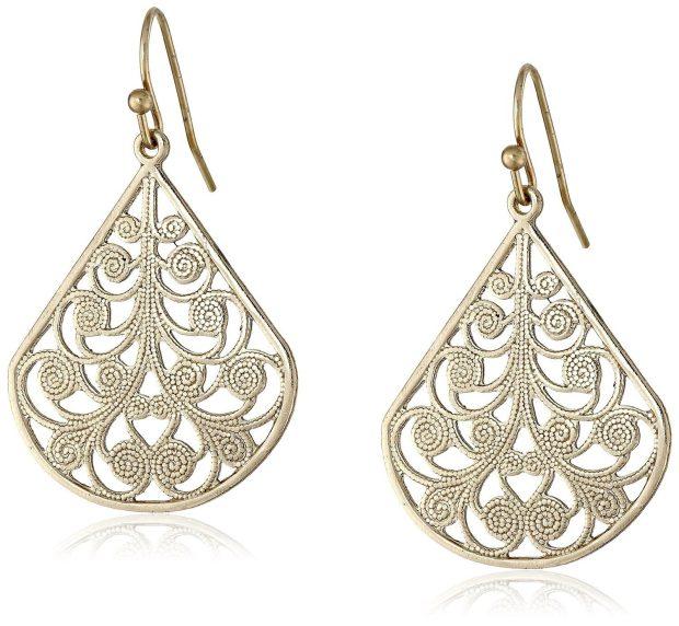 1928 Jewelry Vine Earrings Just $9!