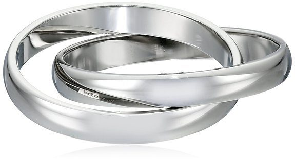 Women's Stainless Steel Wave Band Ring Just $6.31!