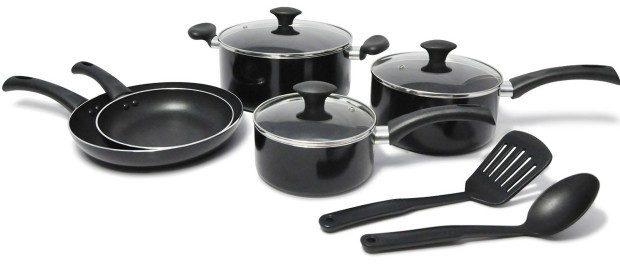 10 Piece WearEver Cookware Set Only $32.68! (Reg. $140!)
