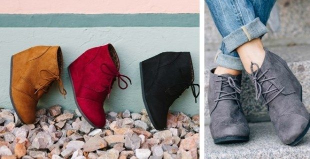 Must Have Fall Wedges Only $22.99!