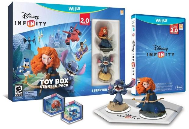 Disney INFINITY: Toy Box Starter Pack (2.0 Edition) - Wii U Only $18.99! (reg. $60)