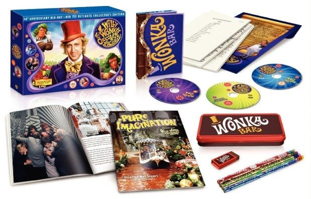 Willy Wonka & the Chocolate Factory 40th Anniversary Collector's Edition Only $22.99!