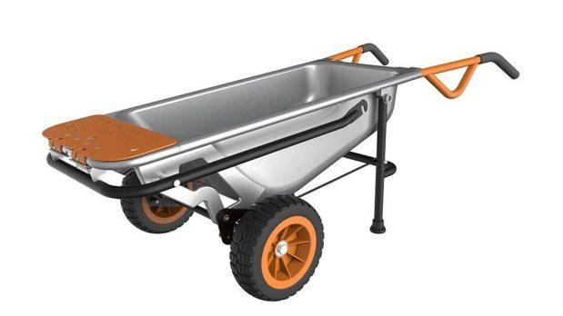 WORX Aerocart Multifunction Wheelbarrow, Dolly and Cart Only $139! (Reg. $170)