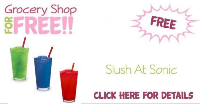 FREE Slush At Sonic!
