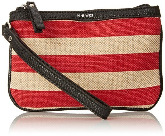 Nine West Small Wristlet In Rio Red Only $10.39!