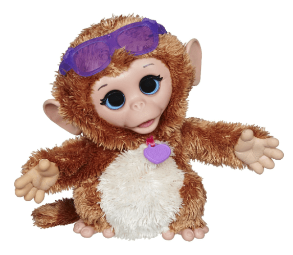 FurReal Friends Baby Cuddles My Giggly Monkey Pet $12.99 + FREE Prime Shipping (Reg. $27)!