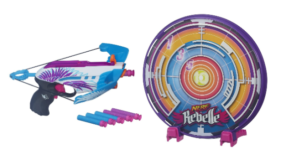 Nerf Rebelle Star Shot Targeting Set $13.98 + FREE Prime Shipping (Reg. $22)!