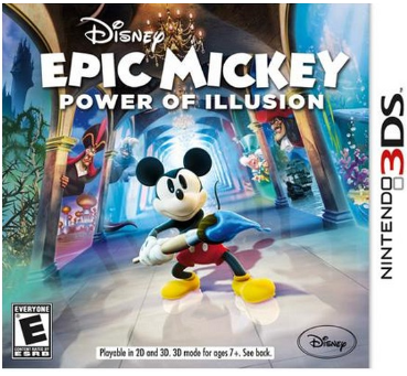 Disney Epic Mickey 2: Power of Illusion Nintendo 3DS Just $9.96 + Free Store Pickup