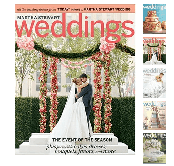 Grab a FREE 1-Year Martha Stewart Weddings Magazine Subscription!