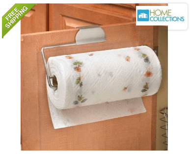 Home Collections Cabinet or Drawer Paper Towel Holder ONLY $8.99 + FREE Shipping (was $30)!