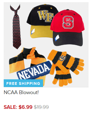 NCAA Blowout - Items As Low As $6.99 + FREE Shipping (Reg. $20+)!