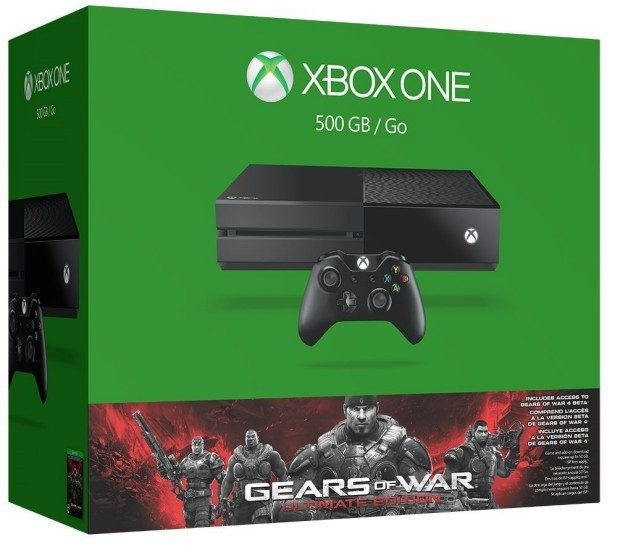 Xbox One 500GB Console - Gears of War: Ultimate Edition Bundle Was $350 Now $299!