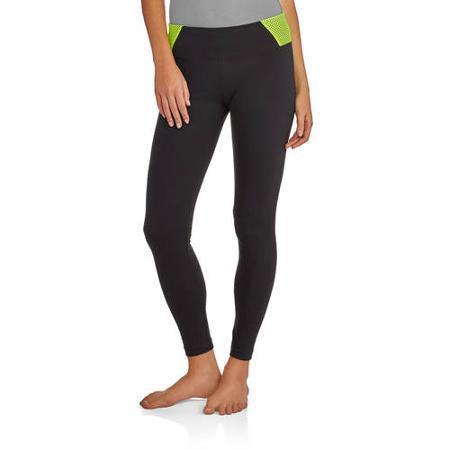 Juniors Skinny Mesh Yoga Pants Only $3!