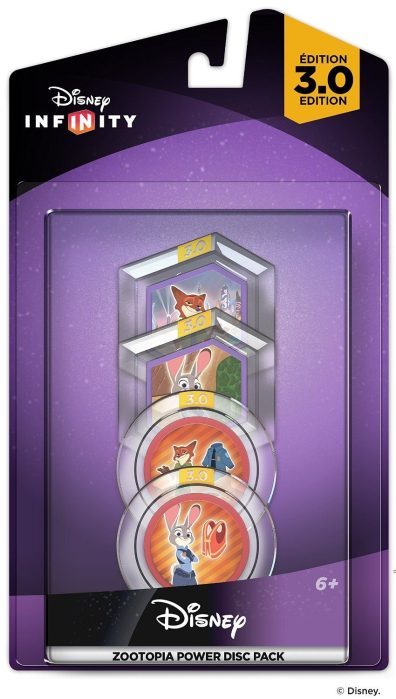 Disney Infinity 3.0 Edition: Zootopia Power Disc Pack Only $1.99 (Reg. $10)