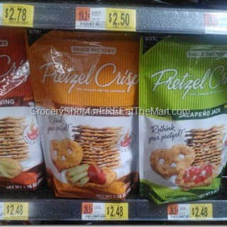 Snack Factory Pretzel Crisps Just $1.78 At Walmart!