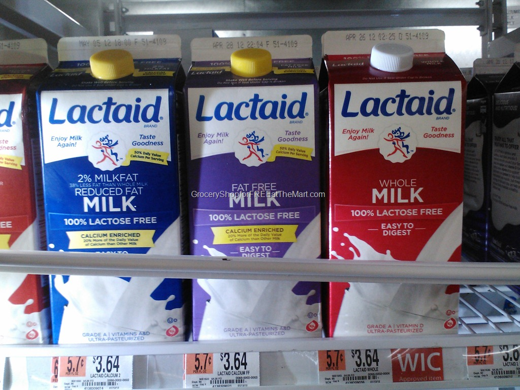 walmart coupon matchup  save  1 on lactaid milk