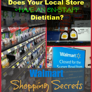 Walmart Shopping Secrets: Does Your Store Have an On-Staff Dietitian?