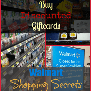Walmart Shopping Secrets: Buy Discounted Giftcards