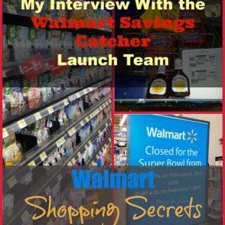 Walmart Shopping Secrets: My Interview With the Walmart Savings Catcher Launch Team