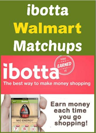 Walmart Ibotta MatchUps!