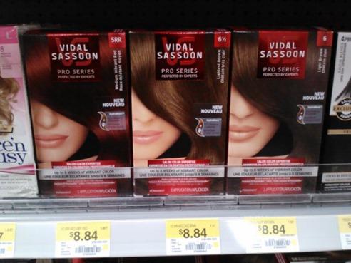 Coupons for vidal sassoon hair color