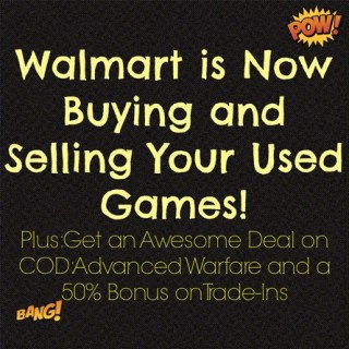 Walmart Shopping Secrets: Walmart Will Now Buy and Sell Used Video Games!