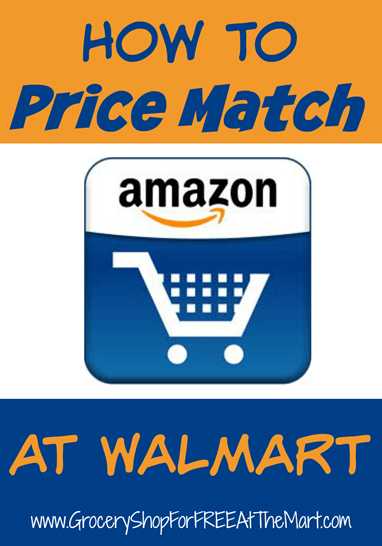 How To Price Match Amazon At Walmart