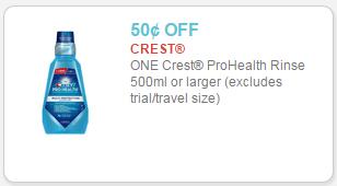 crest pro-health coupon