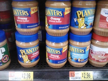 Planters Peanut Butter 1-13-12