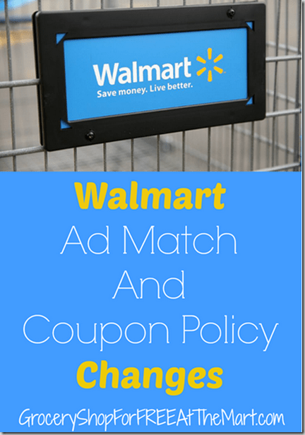 Walmart Tweaks Their Ad Match Policy Again!
