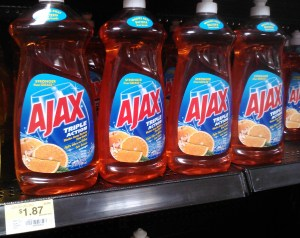 Ajax Dish Liquid Just $0.63 At Walmart!