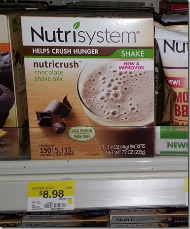 Nutrisystem coupons discounts