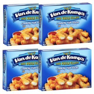 Van de Kamp's Crunchy Fish Sticks Just $3 At Walmart!