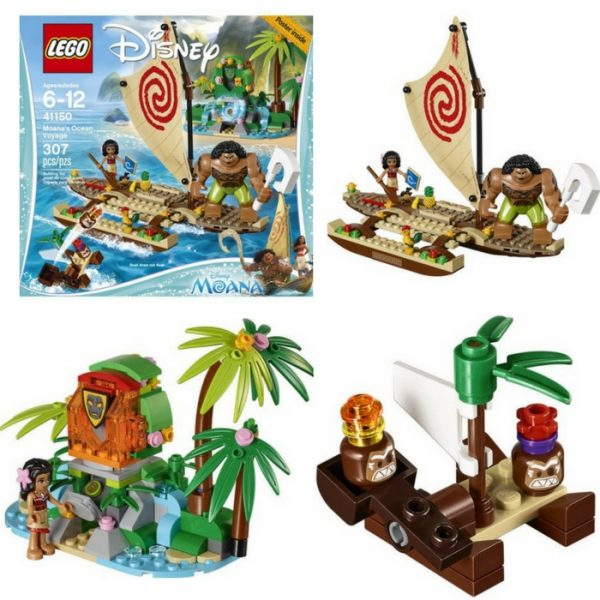 LEGO Moana's Ocean Voyage Just $27.97! Down From $39!