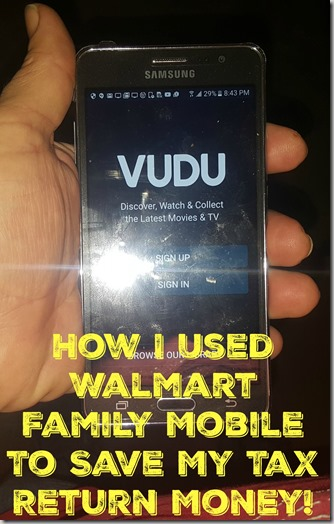 How I Used Walmart Family Mobile To save My Tax Return Money!