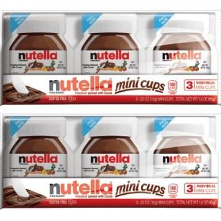 Nutella Mini Cups Just $0.50 At Walmart!