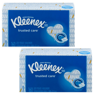 Kleenex Trusted Care 2-Ply Tissues Just $0.33 At Walmart!