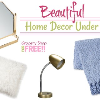 Home Decor Under $20!