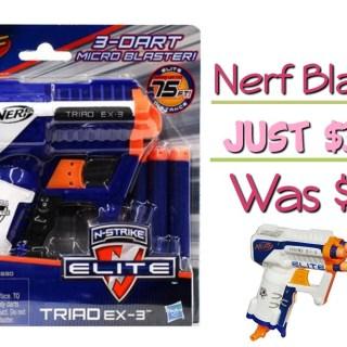 Nerf N-Strike Elite Triad Blaster Just $3.39! Down from $9.99!